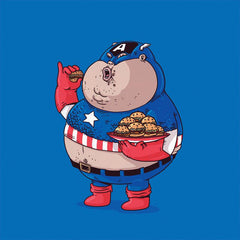 The Famous Chunkies:  Captain America by Alex Solis