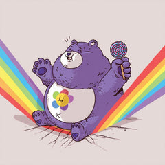 The Famous Chunkies:  Care Bear by Alex Solis