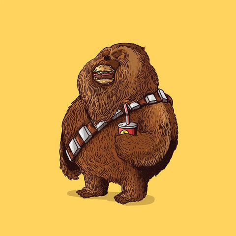 The Famous Chunkies: Chewbacca by Alex Solis