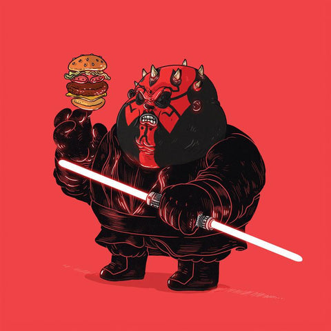 The Famous Chunkies:  Darth Maul by Alex Solis