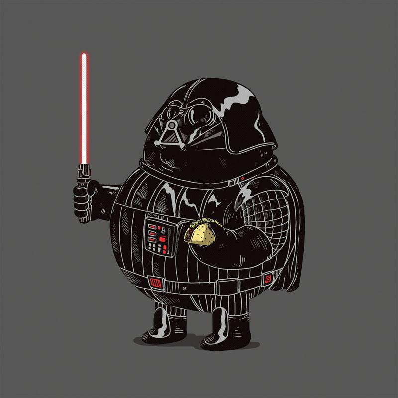 The Famous Chunkies:  Darth Vader by Alex Solis