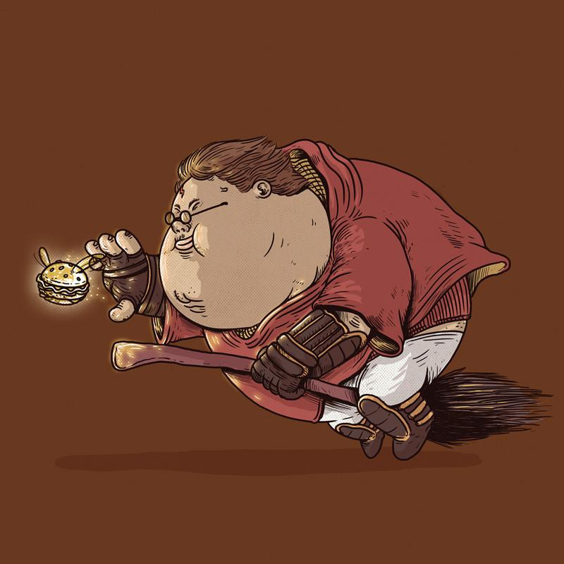 The Famous Chunkies: Harry Potter by Alex Solis