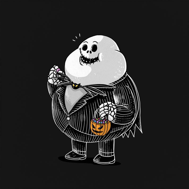 The Famous Chunkies: Jack Skellington by Alex Solis