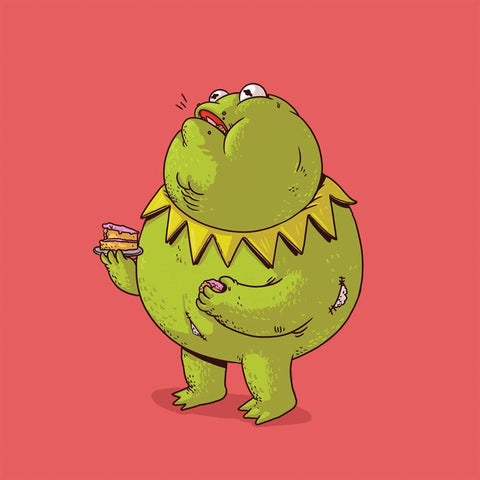 The Famous Chunkies:  Kermit the Frog by Alex Solis
