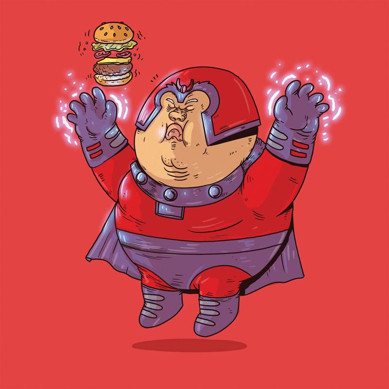 The Famous Chunkies: Magneto by Alex Solis