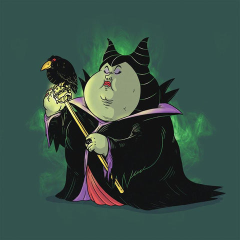 The Famous Chunkies: Maleficent by Alex Solis