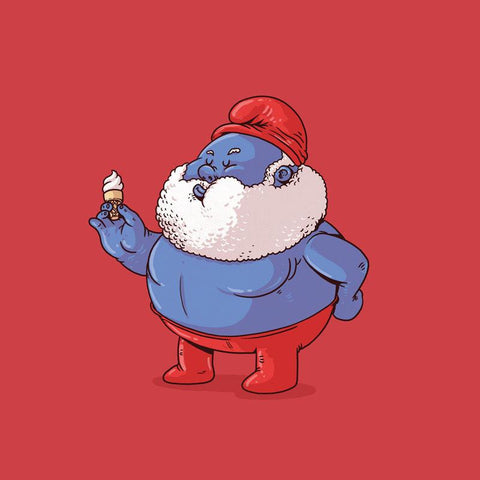The Famous Chunkies:  Papa Smurf by Alex Solis