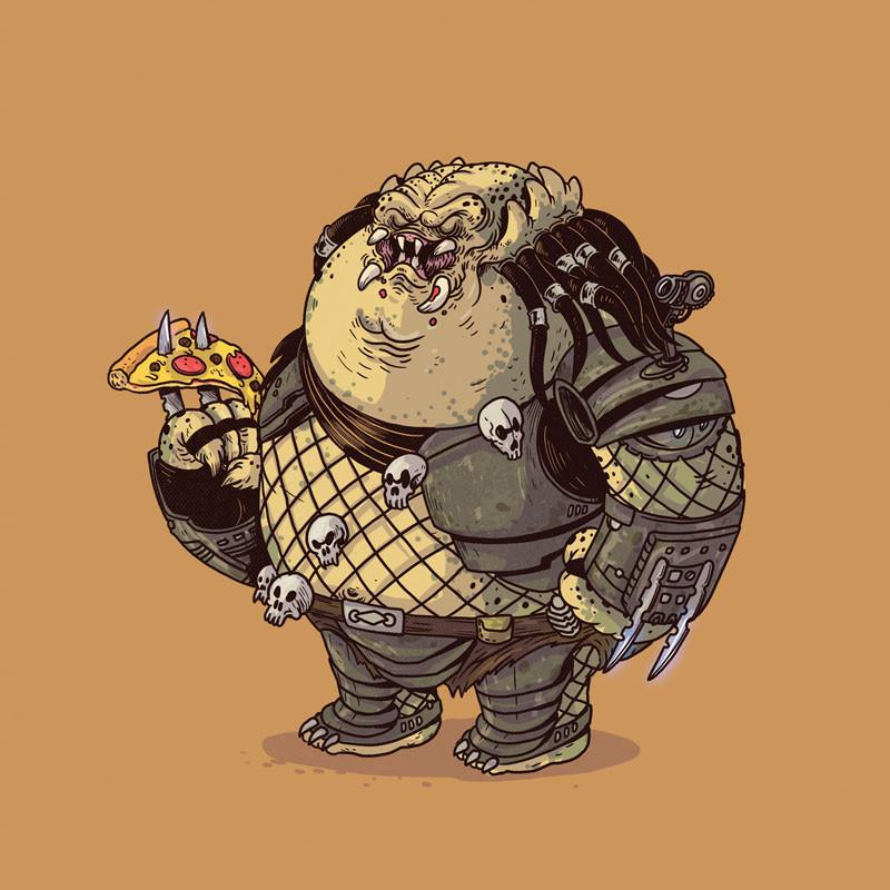 The Famous Chunkies: Predator by Alex Solis