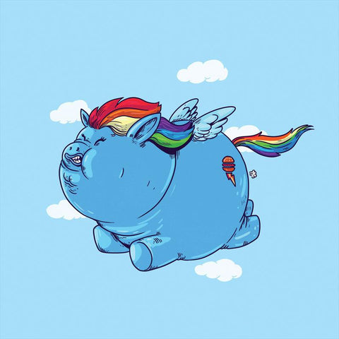 The Famous Chunkies:  Rainbow Dash by Alex Solis