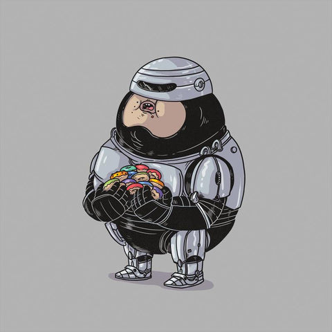 The Famous Chunkies: RoboCop by Alex Solis