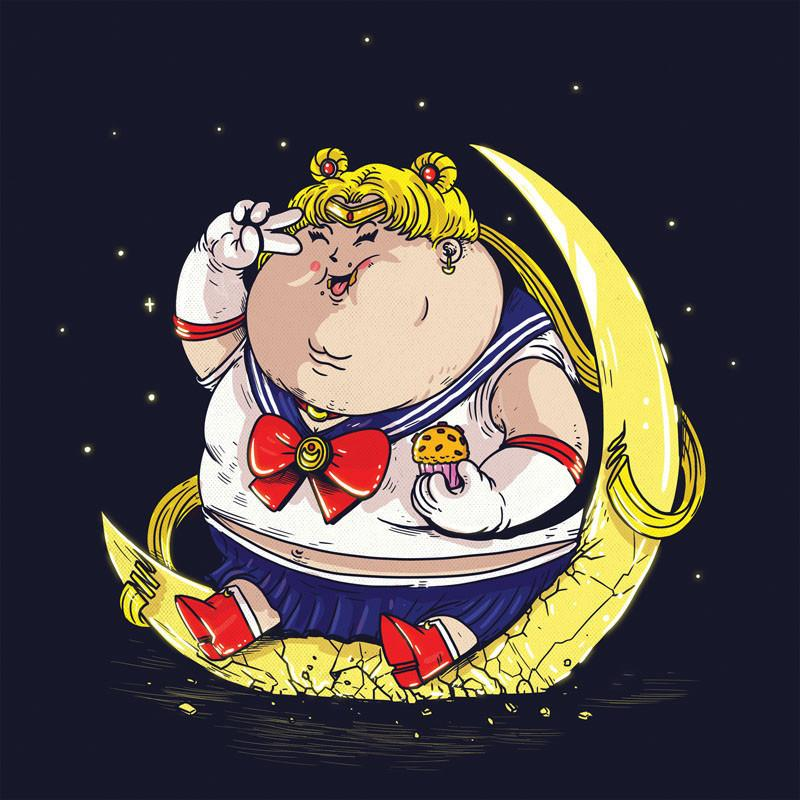 The Famous Chunkies:  Sailor Moon by Alex Solis