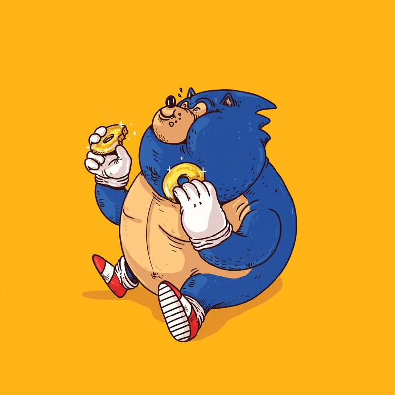 The Famous Chunkies: Sonic by Alex Solis