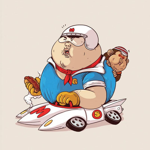 The Famous Chunkies:  Speed Racer by Alex Solis