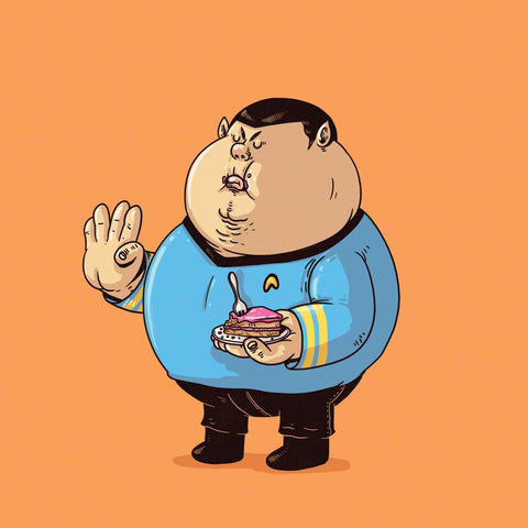 The Famous Chunkies: Spock by Alex Solis