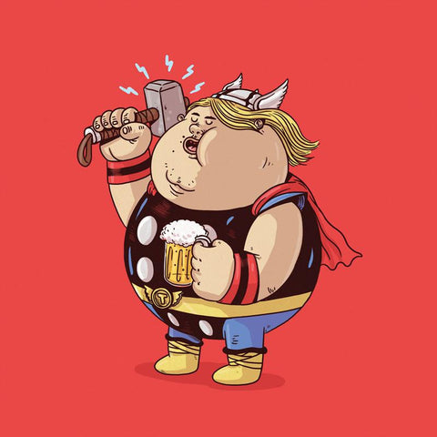 The Famous Chunkies: Thor by Alex Solis