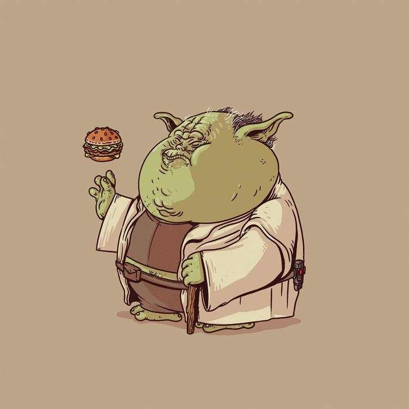 The Famous Chunkies: Yoda by Alex Solis