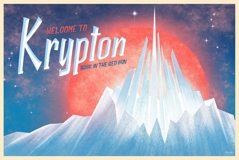 Krypton by Doaly (postcard)