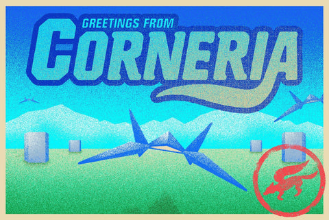 Corneria by Drew Wise (postcard)
