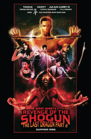 Revenge of the Shogun (The Last Dragon: Part 2) by Fred Gago