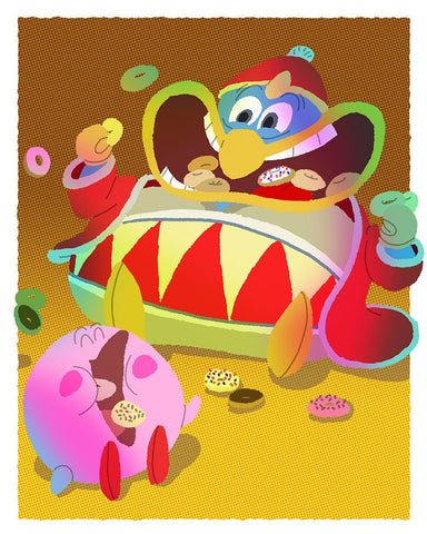 Everybody Loves a Good Villian:     Donut Friends By Gabe Swarr