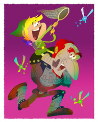 Everybody Loves a Good Villian:    Hyrule Happiness By Gabe Swarr