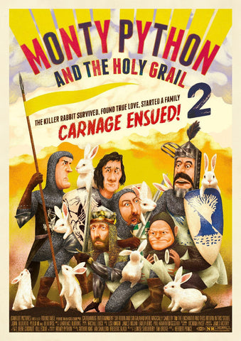 Monty Python and the Holy Grail 2 by Goncalo Viana