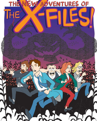 The New Adventures of the X-Files by Lehr Beidelschies