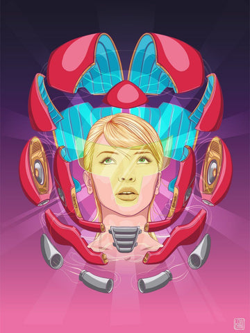 Samus Dissection by Lon Chan