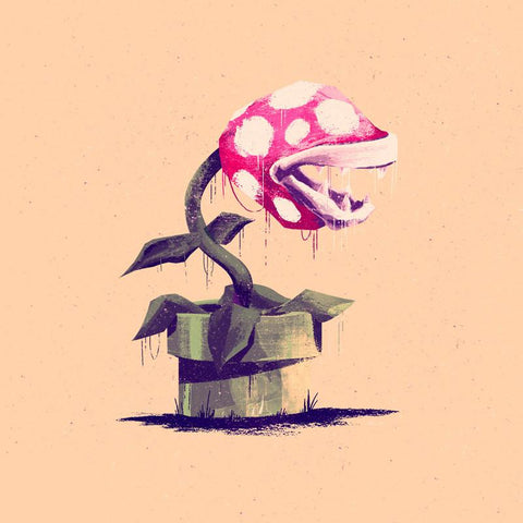 Enemies: Piranha Plant by Marie Bergeron