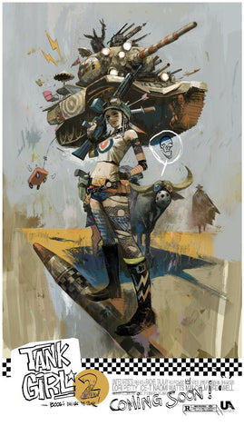 Tank Girl 2 by Mike Huddleston