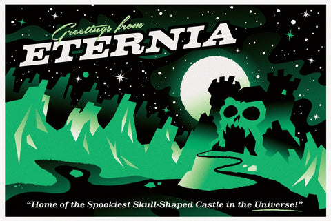 Eternia by Mitch Ansara (postcard)