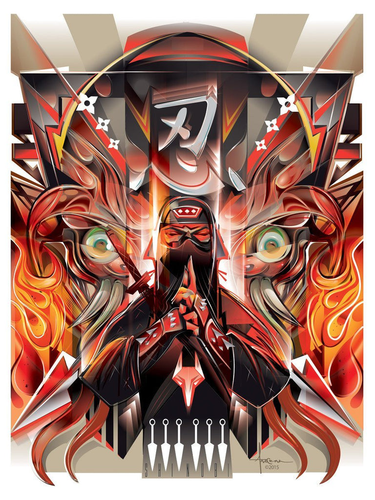 SHINOBI by Orlando Arocena