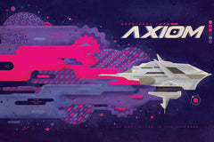 Axiom by Rafael Gil (postcard)