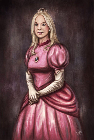 Her Highness, Princess Peach by Sam Gilbey