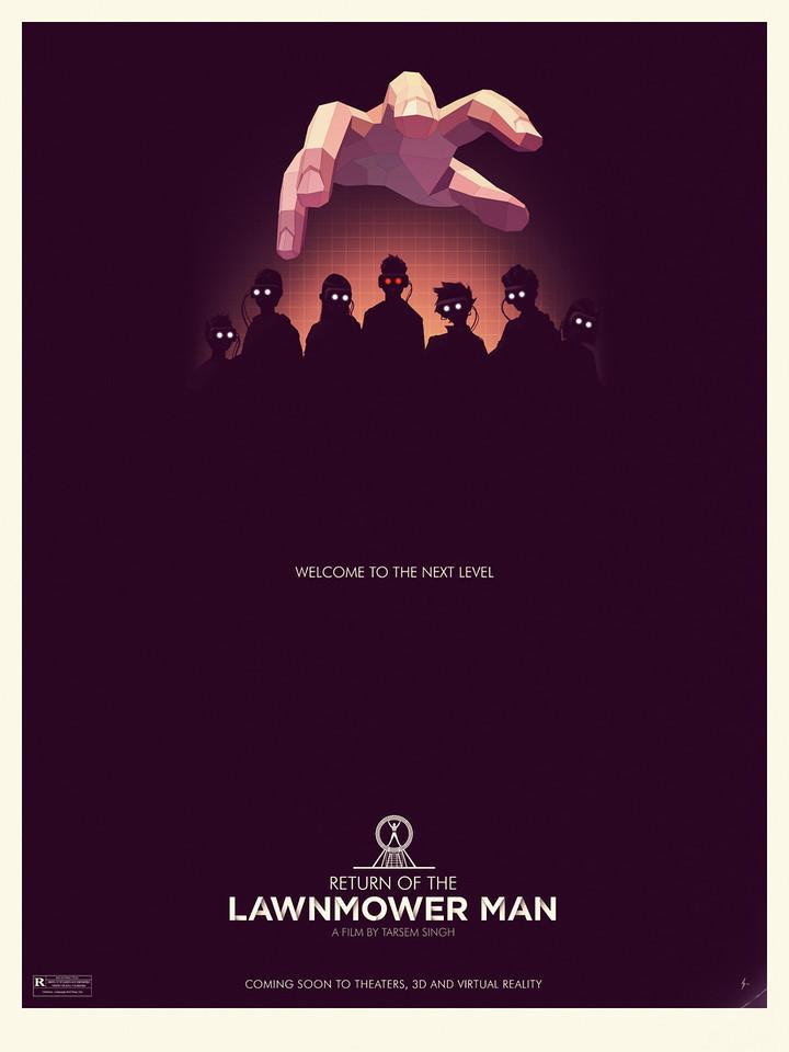 Return of the Lawnmower Man by Steve Courtney