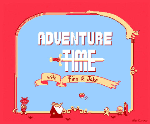 Adventure Time with Finn & Jake by Alex Campos