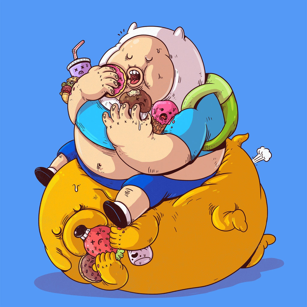 The Famous Chunkies: Finn & Jake by Alex Solis