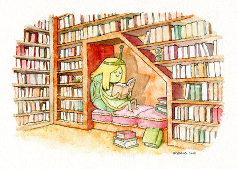 Library by Andy Ristaino