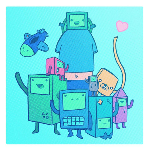 BMO's Family! by Drew Wise and Macky McNamara