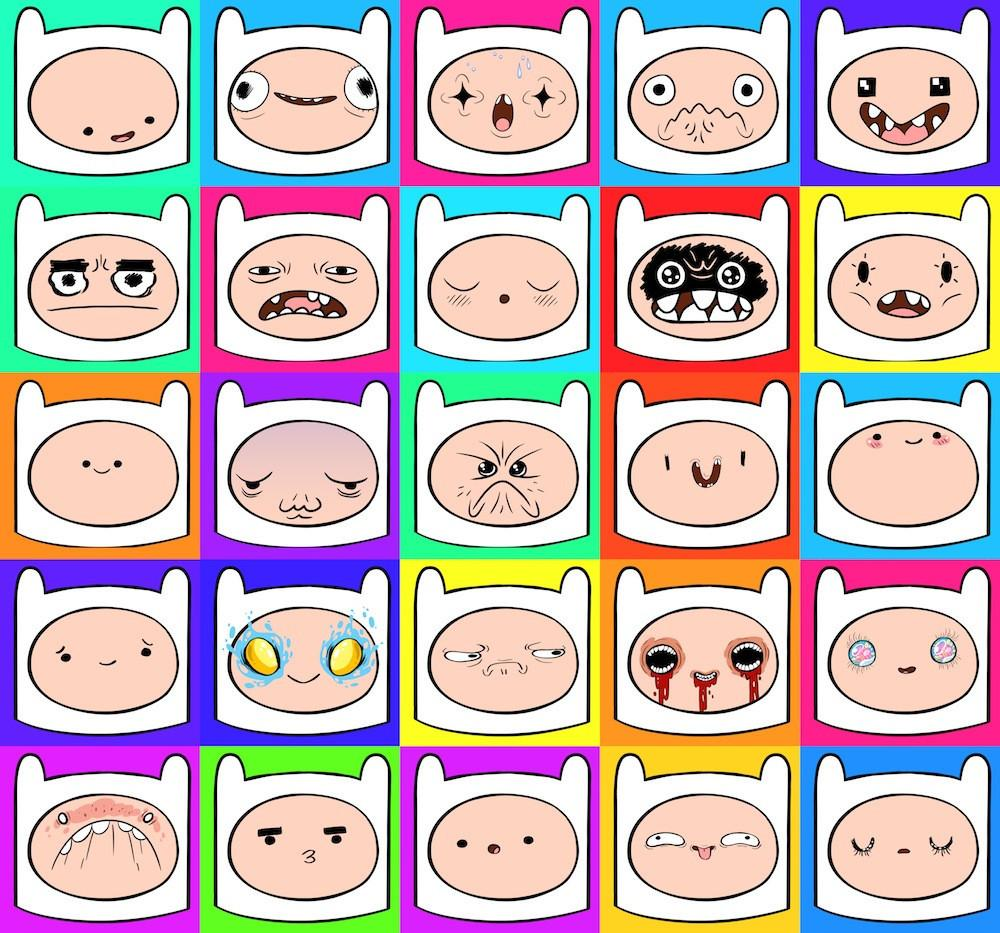 Finn Faces by Various Artists