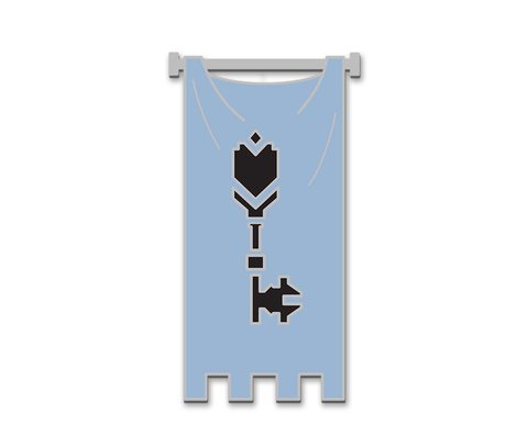 Durmand Priory Order Pin (Blue Sash, Guild Wars 2)