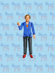 Elizabeth Warren Print by Jason Brockert