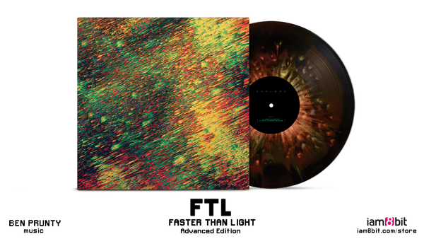Ftl Advanced Edition Vinyl Soundtrack Only From Iam8bit