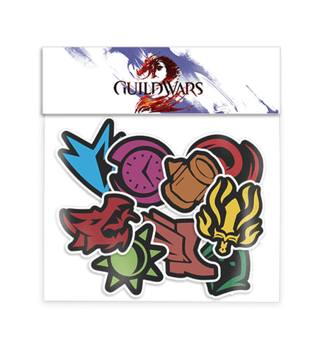 Elite Specializations Sticker Pack (Guild Wars 2)