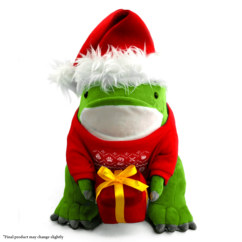 Holiday Quaggan Plush (Limited Time Only!)