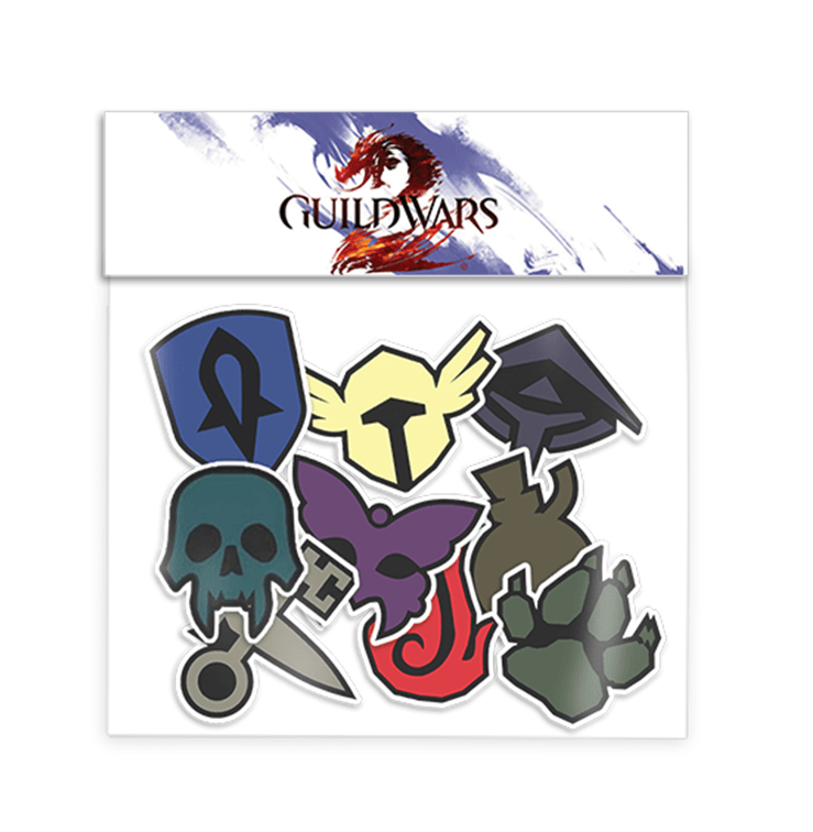 Professions Sticker Pack (Guild Wars 2)