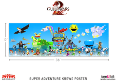 Super Adventure Krewe Poster (Guild Wars 2)