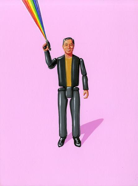 George Takei Print by Jason Brockert