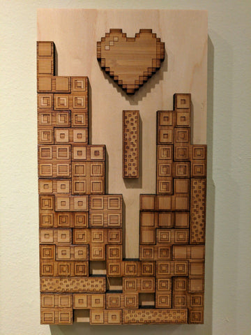 Wood Blocks Falling in Love:    Player 1    By Travis Chen