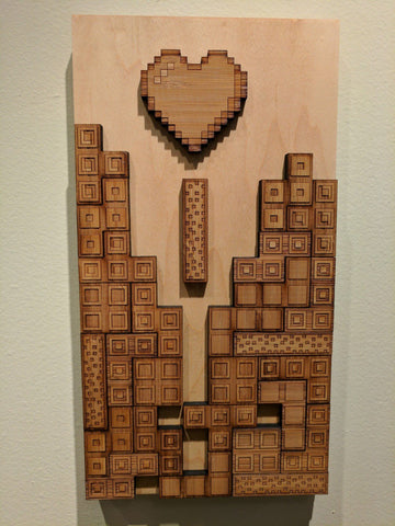 Wood Blocks Falling in Love:    Player 3    By Travis Chen